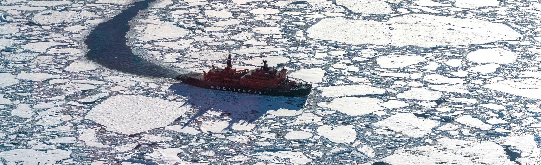 Dreharbeiten am Nordpol