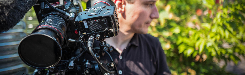 RED-Kamera bei einer Filmproduktion im Ausland